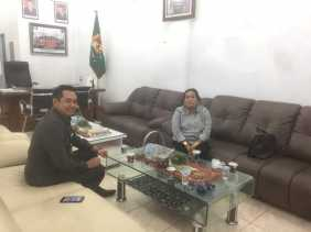 Tingkatkan Sinergitas, Kejari Karo Silaturahmi ke Ketua DPRD Karo
