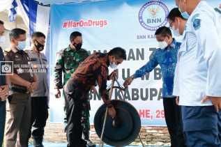 Wakil Bupati Karo Theopilus Ginting  : Integritas BNN Kabupaten Karo  Diharapkan Membawa Perbaikan