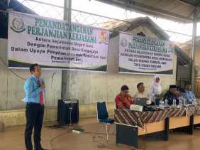 Kajari Karo - Pemdes Sempajaya Kerjasama Terkait Penyelamatan dan Pemulihan Aset Desa