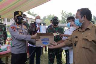 Pangdam I/BB Mayjen TNI Hassanudin Dan Kapoldasu : Tetaplah Sosialisasikan Bahaya Covid-19