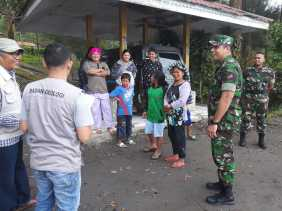 Erupsi Gunung Sinabung, Warga Karo Diminta Tidak Memasuki Zona Merah