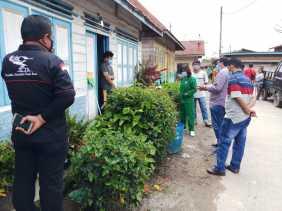 Lawan Covid 19, Anggota DPRD Karo Dodi Sinuhaji Pantau Wilayah Dapilnya
