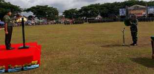 Pangkostrad Resmi Menutup TNI-MMD Ke 100 Kodim 0212/TS