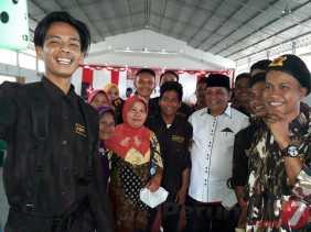 Warga Minta Salaman dan Foto Usai Paparkan Visi-Misi, M.Isnandar: Dukungan Masyarakat