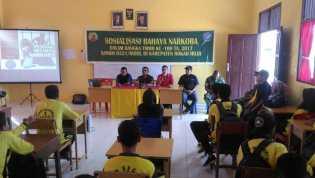 Kegiatan TNI-MMD di Rohil, Sosialisasi Bahaya Narkoba di SMKN 1 Bangko
