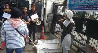 Terkait Ganti Rugi Jalan Tol, Ahli Waris Sultan Deli X Unjuk Rasa ke DPRD Sumut