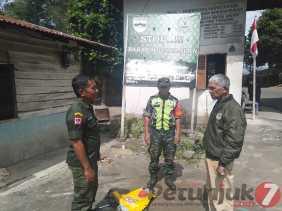 Cegah Karhutla, Babinsa Koramil 02/TP Rutin Patroli, Ini Lokasinya...