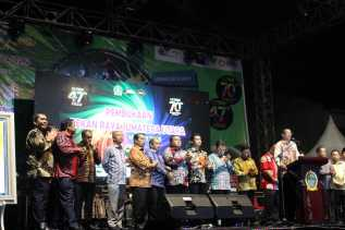 PRSU ke 47 di Medan, Ini Pavilun yang Ditampilkan Kabupaten Karo