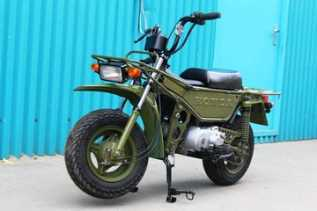 Honda Pernah Produksi 'Buldoser' Dua Roda!