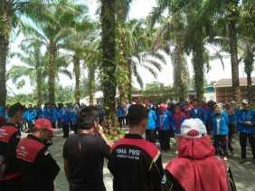 HIMA PBSI FKIP UIR Mengadakan PSDM di Pulau Cinta