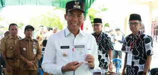 Wali Kota Pekanbaru Nyoblos di Bukit Raya