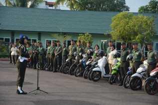 Sosialisasi Gabtib dan Yustisi 2019 di Korem 02/KS, Ini Penegasan Komandan Pom1/2 Sibolga