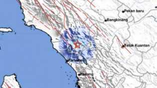 Gempa di Sumbar: 23 Rumah Rusak, 1 Tewas, 2 Luka Ringan dan Traumatik