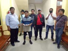 Satreskrim Polres Karo Ringkus Arismulianta di Jalan Samura Gang Madu Terkait Judi Tolam