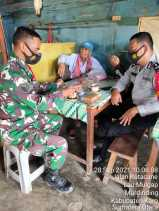 Warung Kopi, Media Babinsa Koramil 09/LB Komsos dengan Warga Binaannya