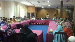 DPRD Siak Gelar Hearing Bersama OPD Terkait PKL