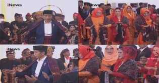 Resepsi Bobby-Kahiyang Jadi Ajang Silaturahmi paraRaja Adat