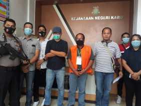 Korupsi TPA Sampah, Kejari Karo Limpahkan Berkas Perkara Candra Tarigan ke Pengadilan Tipikor Medan