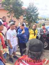 Potret Karnaval di Tiga Panah: Bupati Karo Diarak Ratusan Warga Sejauh 3 KM Keliling Siosar