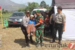 HUT Poldasu ke 73 Tahun di Karo Gelar Sunat Massal di Desa Sukatepu