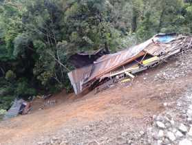 Ini Penjelasan Danramil O2/TP Terkait Korban Bencana Longsor di Jalan Sidikalang - Merek