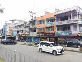 14 Hari Jelang HUT RI ke 75, Masih Sepi Bendera Merah Putih Berkibar di Jalan Vetran Berastagi