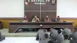 Azwan: Satpoll PP Pekanbaru Harus Bekerja Penuh Tanggungjawab