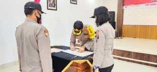 Polres Karo Canangkan ZI WBK - WBBK dan Teken Fakta Integritas Soal Bebas Narkoba