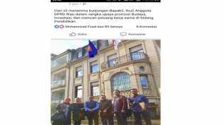 Berawal dari Facebook, Ini Kunker Anggota DPRD Riau Stuban di Jerman