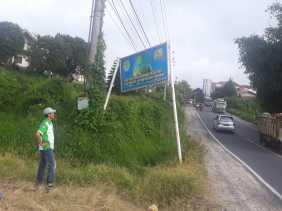 Iklan Dinas LHK Terkait Lingkungan Nyaris Ambruk, Walantara Karo: Sangat Disayangkan Tidak Ditata