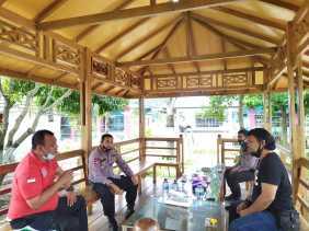 Kapolsek Medan Helvetia Silaturahmi dan Coffee Morning Dengan Karutan Kelas 1 A Medan