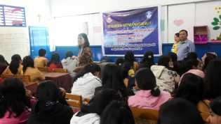 Dosen dan Mahasiswa FKIP - UDAM Paparkan Manfaat Medsos dan Pengaruhnya ke Siswa/i se-Karo
