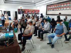 Kapolres AKBP Yustinus Setyo SH SIK  : Jangan Takut Divaksin , Vaksin Aman Dan Halal