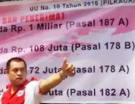LSM Lira Kampar Minta Jajarannya Aktif Kawal Pilkada Riau 2018