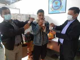 BNNK Karo Tangkap Pengedar Narkotika dan Amankan Barang Bukti 74 Paket Sabu-Sabu