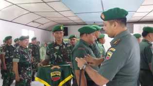 Saat Lantik 12 Prajurit Naik Pangkat, Dandim 0205/TK: Prajurit Harus Tetap Jaga Netralitas TNI