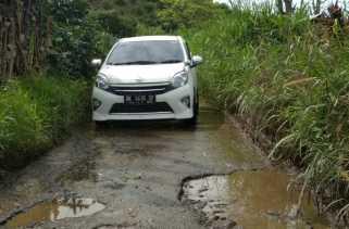Akses Jalan Ujung Teran - Deram Rusak Parah, Camat Merdeka: Tahun Ini Diperbaiki