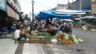 Satpol PP Pekanbaru Siaga di Pasar Kodim