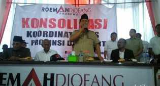 Minta Pendukung Jaga TPS, Prabowo: Waspada Pemilih Hantu!