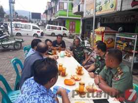 Coffee Morning bersama Bupati Karo, Masyarakat, dan Pers, Dandim 0205/TK: Kita Buktikan, Kita Solid