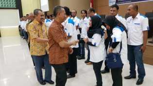 Gubernur Riau Terpilih Hadiri Pelantikan Pengurus IKA Teknik Sipil UIR, ini Pesannya