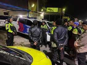 Puluhan Sepeda Motor Terjaring Razia Satlantas Polres Karo Terkait Aksi Balap Liar