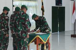 Danyon 125/Si'Mbisa Dijabat Letkol Inf Budianto Hamdani Dan Anjuanda Pardosi Pindah Ke Papua