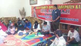 Anggota DPRD Karo Reses di Desa Sempajaya, Milala: Banyak Warga Saya Belum Punya KIS dan KIP