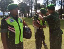 Bantuan Mabes TNI AD, Dandim 0205/TK Serahkan 20 Sepeda Motor dan 100 Rompi ke Babinsa