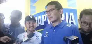Debat Capres, Sandiaga : Prabowo Mengingatkan Pertahanan Soal Serius Bukan Tertawa