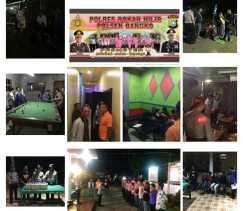 Polsek Bangko Mengamankan Miras 69 Botol Jenis Tuak dan 5 Warga Tanpa KTP