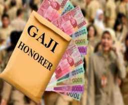 Potret Guru Honorer, Terima Gaji Rp10ribu per Jam