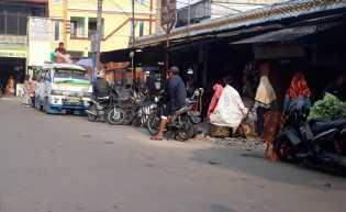 Dampak Virus Corona, Jumlah Pengunjung ke Pusat Pasar Berastagi Mengalami Penurunan