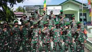 Danrem 023/KS Kolonel Inf Febriel Buyung : Saya Minta Kepada Jajaran Kodim 0206/Dairi Agar Tetap Peg